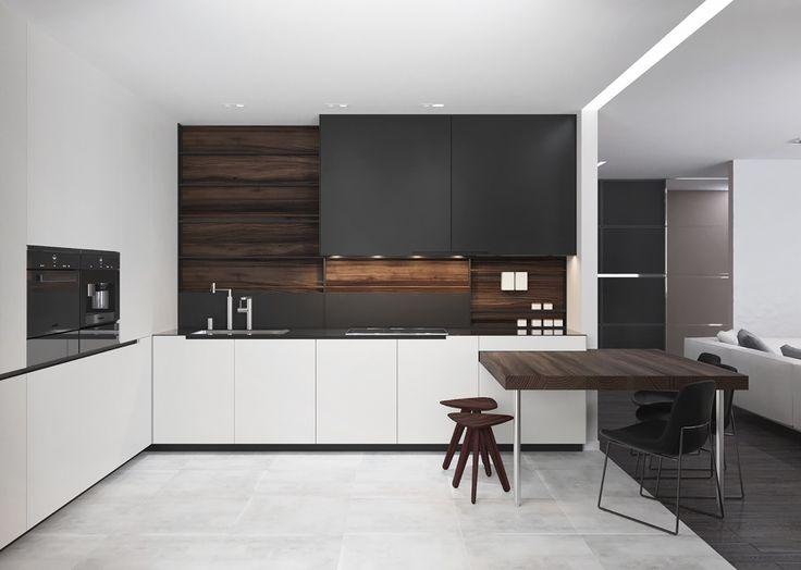 nhà bếp hiện đại