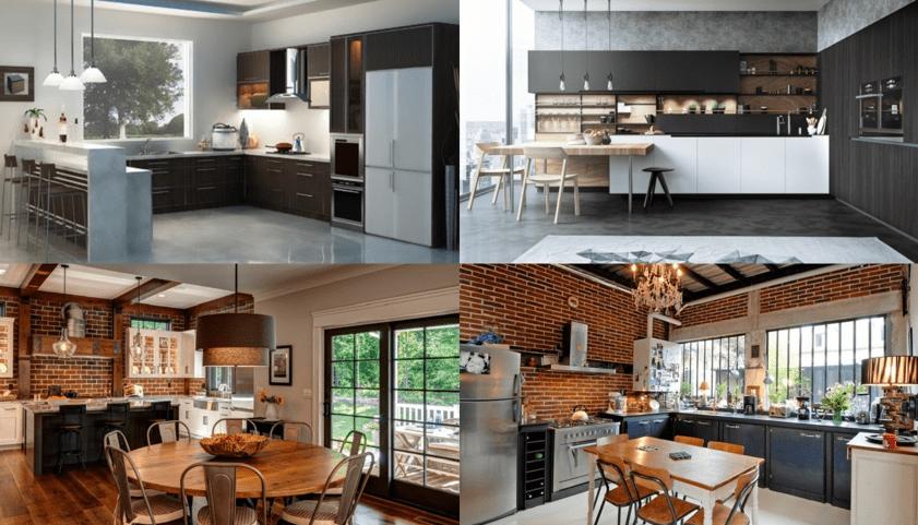 xu hướng thiết kế nhà bếp