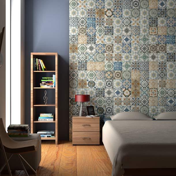 gach bong trang tri 2 - 20 mẫu gạch bông trang trí và kinh nghiệm chọn gạch bông đẹp, độc đáo để bạn biến tấu không gian nội thất