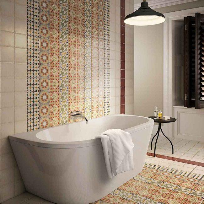 gach bong trang tri 4 - 20 mẫu gạch bông trang trí và kinh nghiệm chọn gạch bông đẹp, độc đáo để bạn biến tấu không gian nội thất