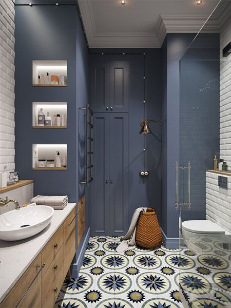 gach bong trang tri 5 - 20 mẫu gạch bông trang trí và kinh nghiệm chọn gạch bông đẹp, độc đáo để bạn biến tấu không gian nội thất