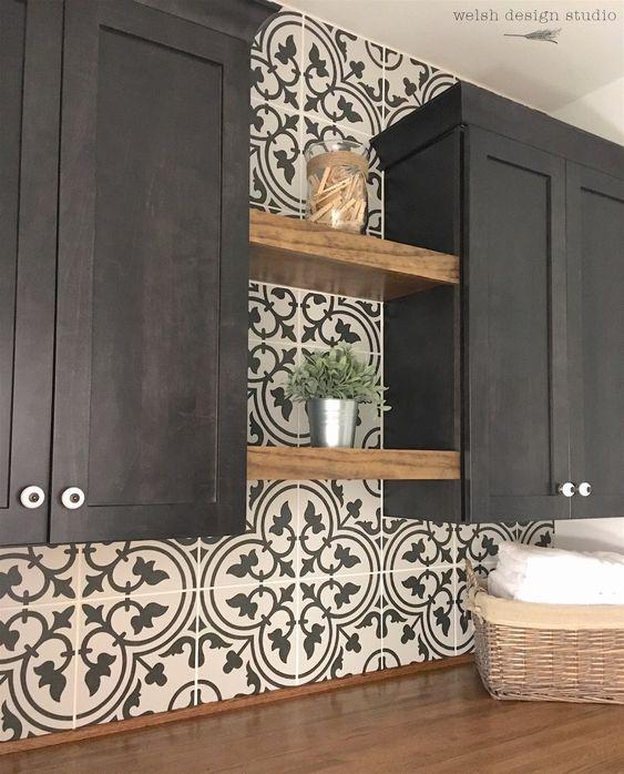 gach bong trang tri 7 - 20 mẫu gạch bông trang trí và kinh nghiệm chọn gạch bông đẹp, độc đáo để bạn biến tấu không gian nội thất