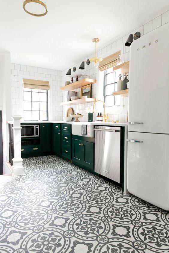 gach bong trang tri 8 - 20 mẫu gạch bông trang trí và kinh nghiệm chọn gạch bông đẹp, độc đáo để bạn biến tấu không gian nội thất
