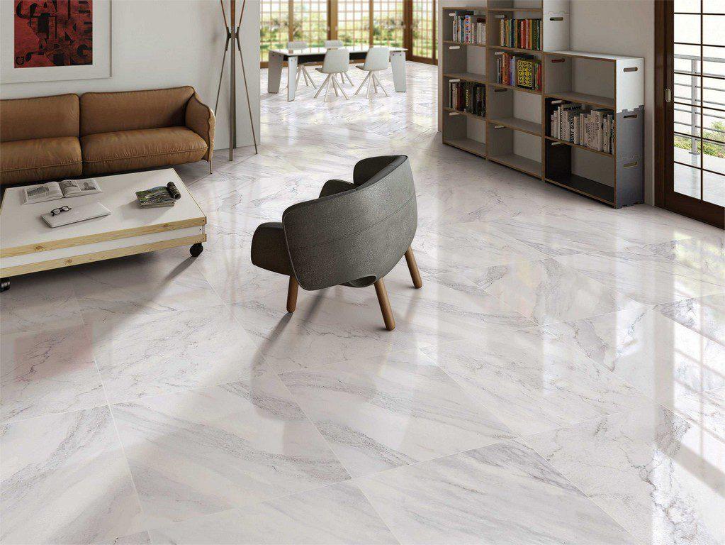 Gạch granite có khả năng chống trầy và độ bóng do chà bề mặt nên rất lâu cũ