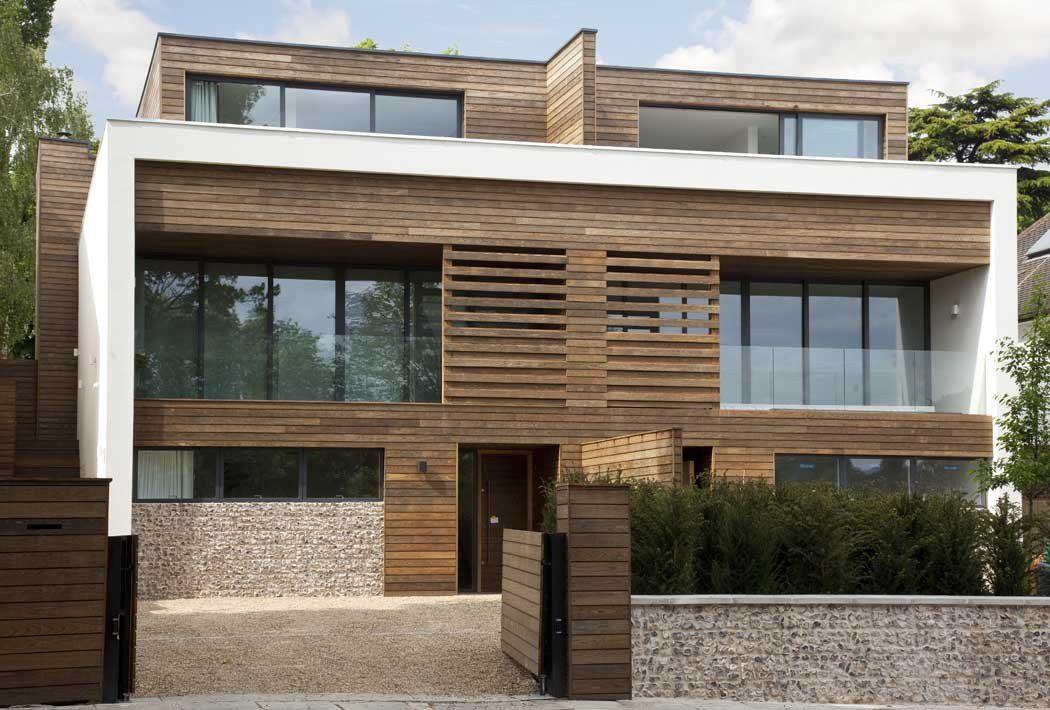 Gạch ốp tường ban công giả gỗ mang phong cách sang trọng, đẳng cấp
