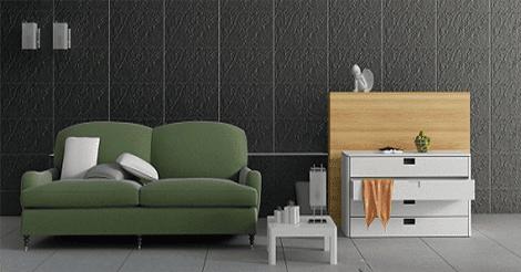 gach op tuong phong khach taicera 7 1 - 19 mẫu gạch ốp lát phòng khách đẹp, tinh tế, giá rẻ và kinh nghiệm chọn gạch