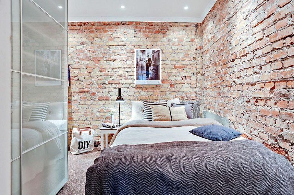 Gạch thẻ trang trí cho phòng ngủ