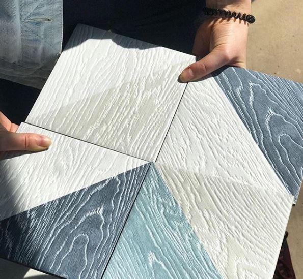 gach lat nen van go phoi da sac 4 - 27 mẫu gạch giả gỗ ốp lát sang trọng, tinh tế nhất năm 2019