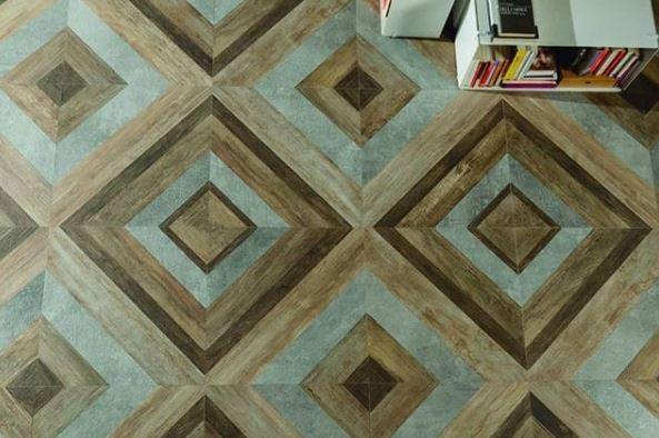 gach lat nen van go phoi da sac 5 - 27 mẫu gạch giả gỗ ốp lát sang trọng, tinh tế nhất năm 2019