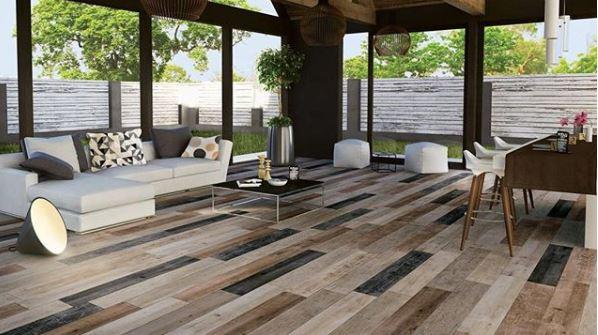 gach lat nen van go phoi da sac 7 - 27 mẫu gạch giả gỗ ốp lát sang trọng, tinh tế nhất năm 2019