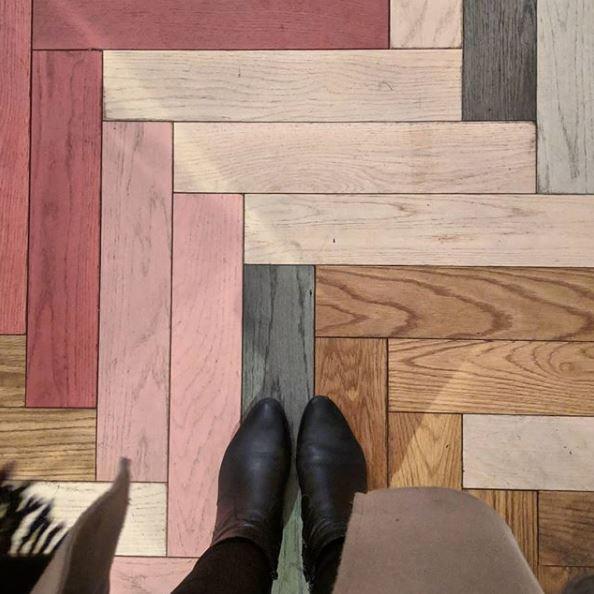 gach lat nen van go phoi da sac 8 - 27 mẫu gạch giả gỗ ốp lát sang trọng, tinh tế nhất năm 2019