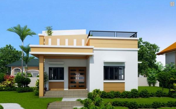 mau nha cap 4 duoi 100 trieu co san thuong - 99 mẫu nhà cấp 4 mái thái đẹp hiện đại, tinh tế (2020)