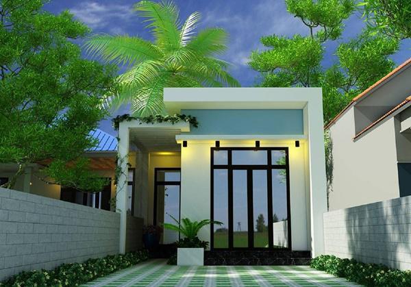 mau nha cap 4 duoi 100 trieu mai bang 3 - 99 mẫu nhà cấp 4 mái thái đẹp hiện đại, tinh tế (2020)