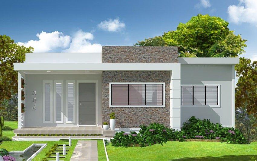 mau nha cap 4 duoi 100 trieu mai bang 4 - 99 mẫu nhà cấp 4 mái thái đẹp hiện đại, tinh tế (2020)