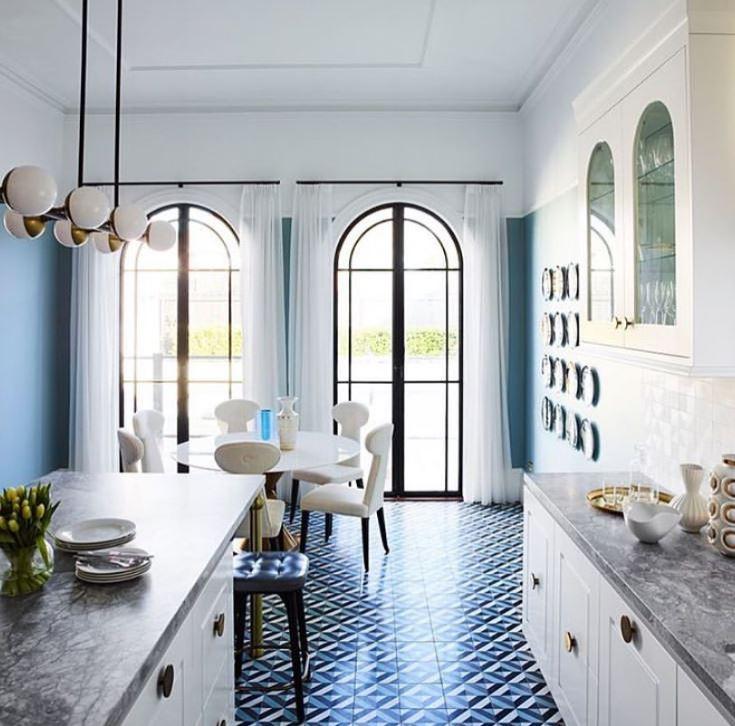 nen chon gach lat nen mau gi xanh 3 - Nguyên tắc chọn màu gạch hợp với ngôi nhà và phong thuỷ