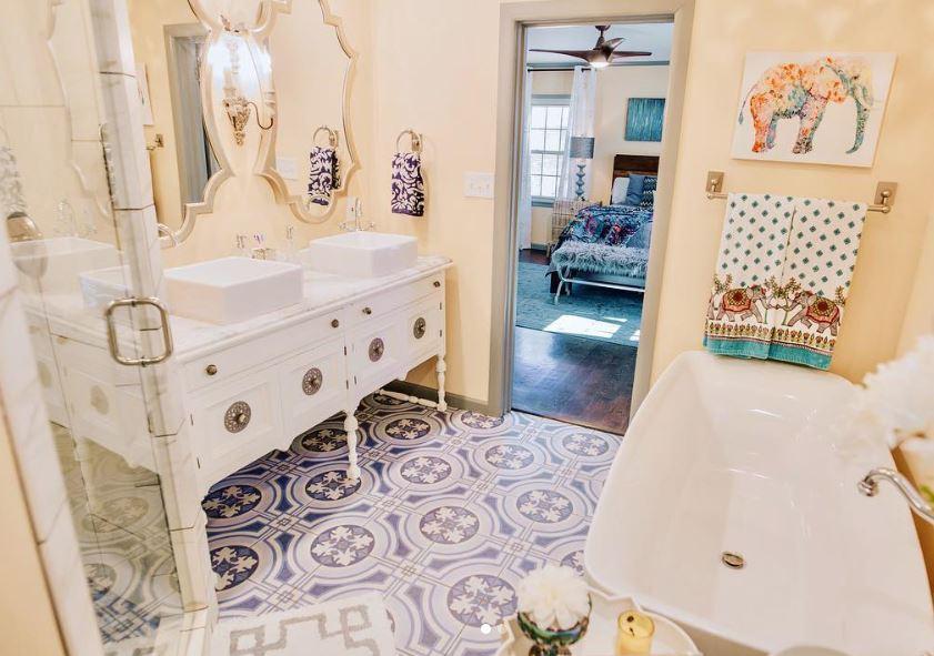 nen chon gach lat nen mau gi xanh 4 - Nguyên tắc chọn màu gạch hợp với ngôi nhà và phong thuỷ