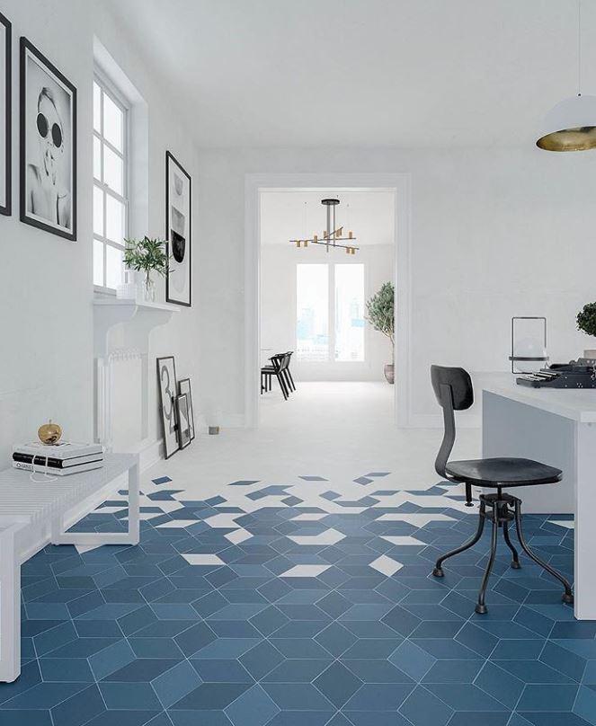 nen chon gach lat nen mau gi xanh - Nguyên tắc chọn màu gạch hợp với ngôi nhà và phong thuỷ