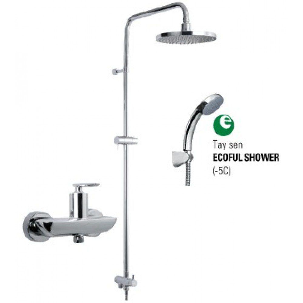 BFV 41S 5C - Bộ Sen Cây BFV-41S-5C (ECOFUL Shower)