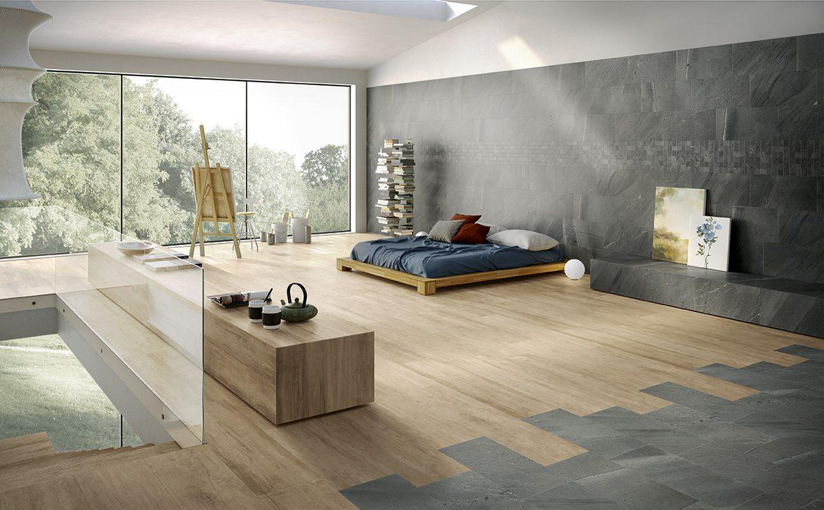 gach lat nen gia go phong ngu - 37 mẫu gạch màu gỗ đẹp, sang, giá rẻ (update 2020)