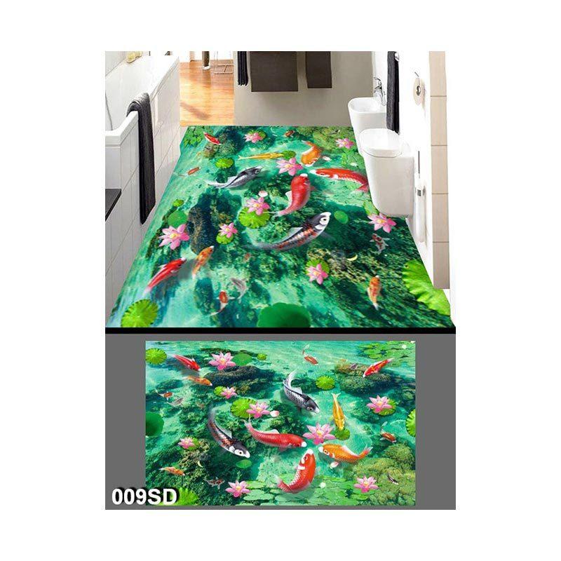 Gạch Tranh Sàn 3D - 009