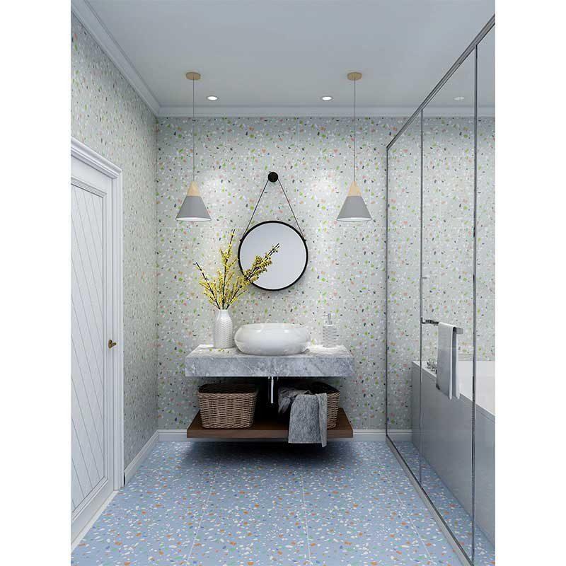 Gach Phong Tam Chong TronLát nền nhà tắm chống trơn cũng là một ưu điểm nổi bật của terrazzo
