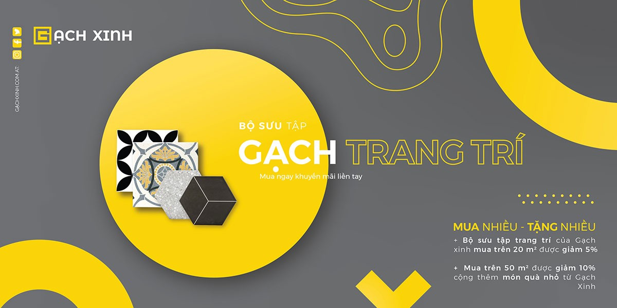 Gach Trang Tri