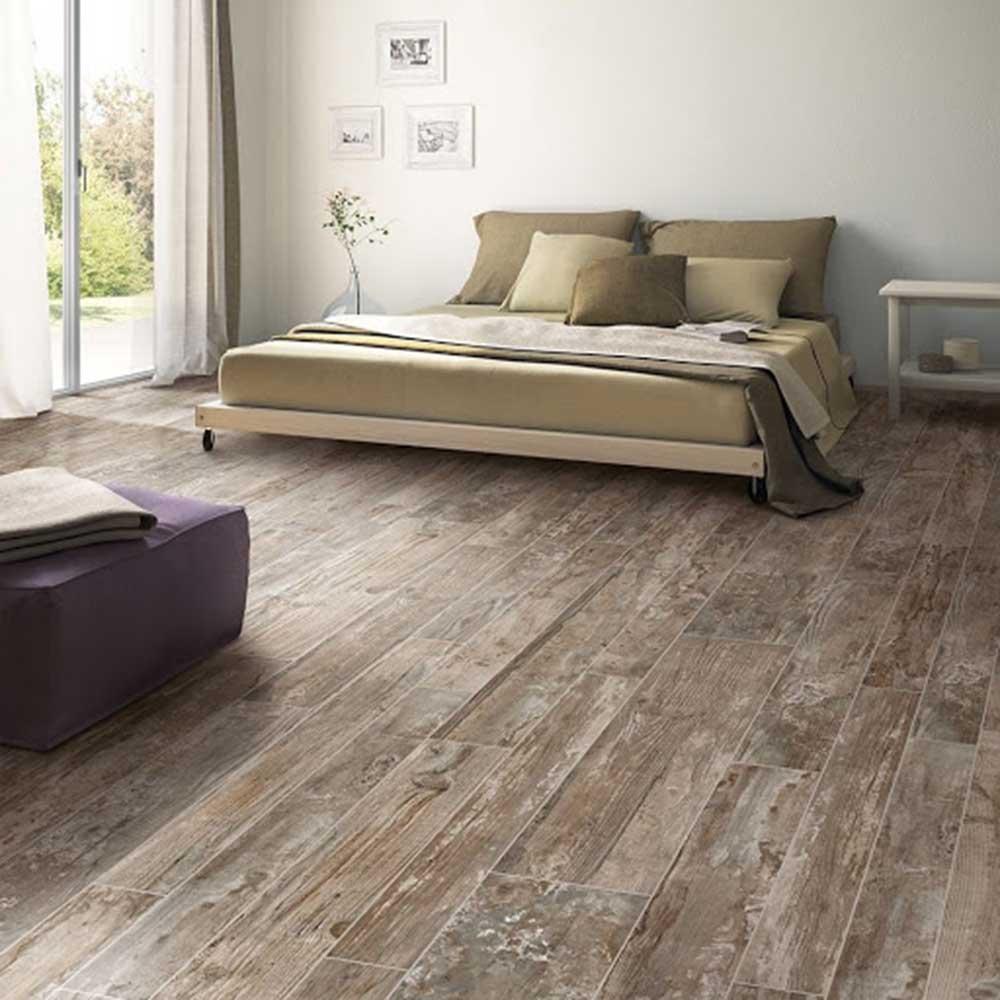 Màu giả gỗ tự nhiên kết hợp màu nội thất nhẹ nhàng
