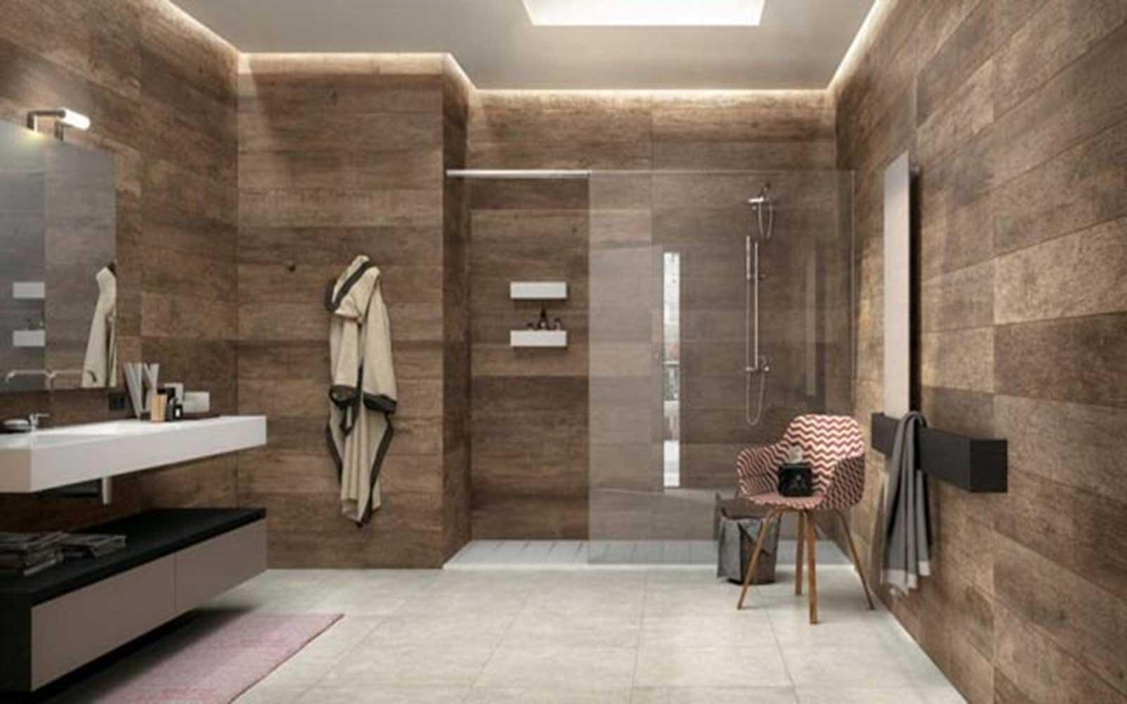 Ốp tường vân gỗ chống thấm