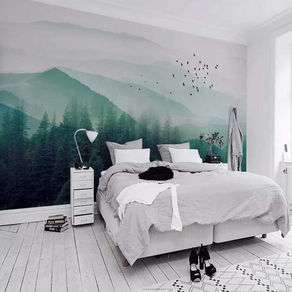 Gạch tranh 3D ốp tường hình phong cảnh