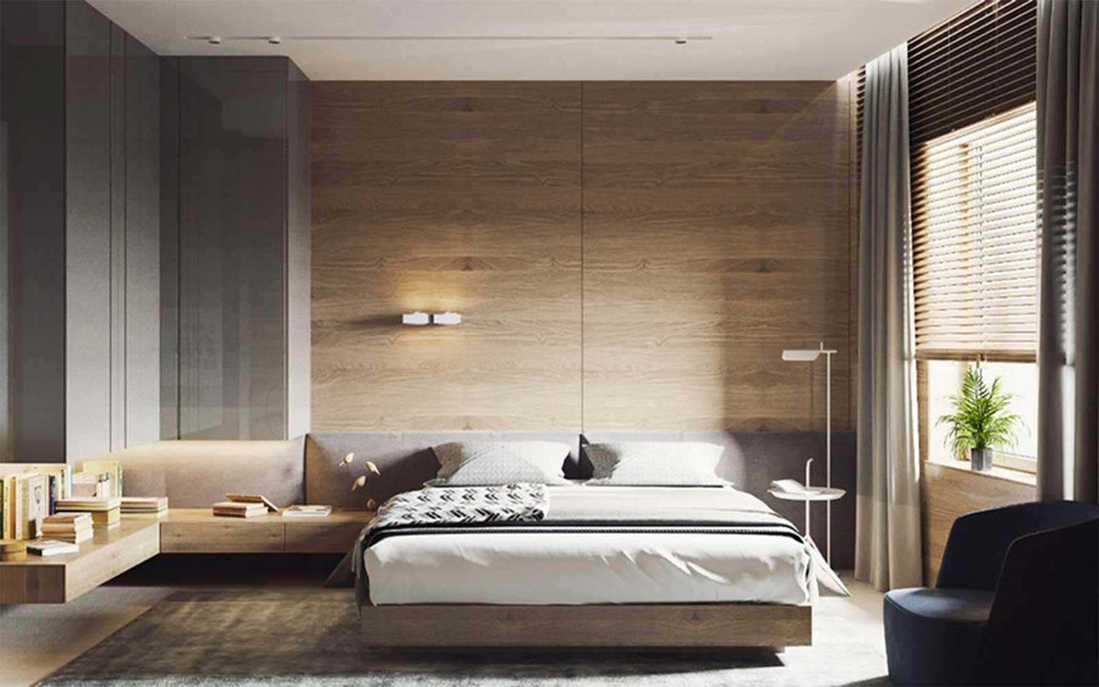 Gạch ốp tường phòng ngủ chống thấm