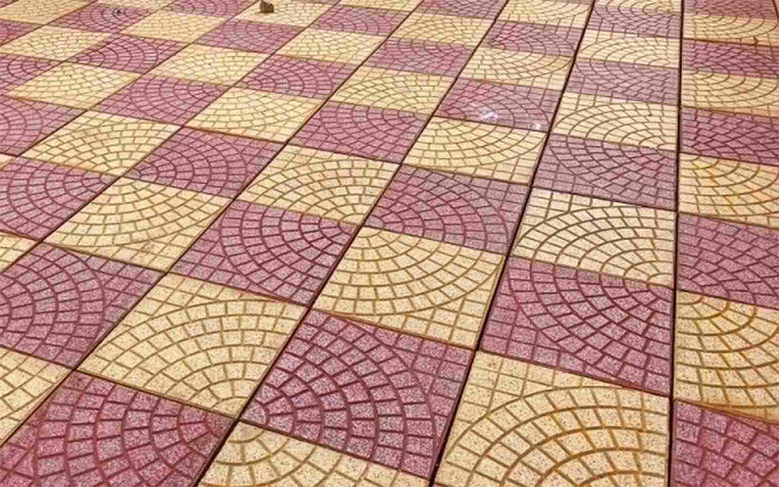 Màu sắc gạch Terrazzo cũng đa dạng