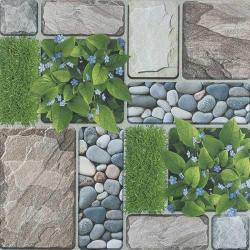 Gạch lát sân vườn 50x50