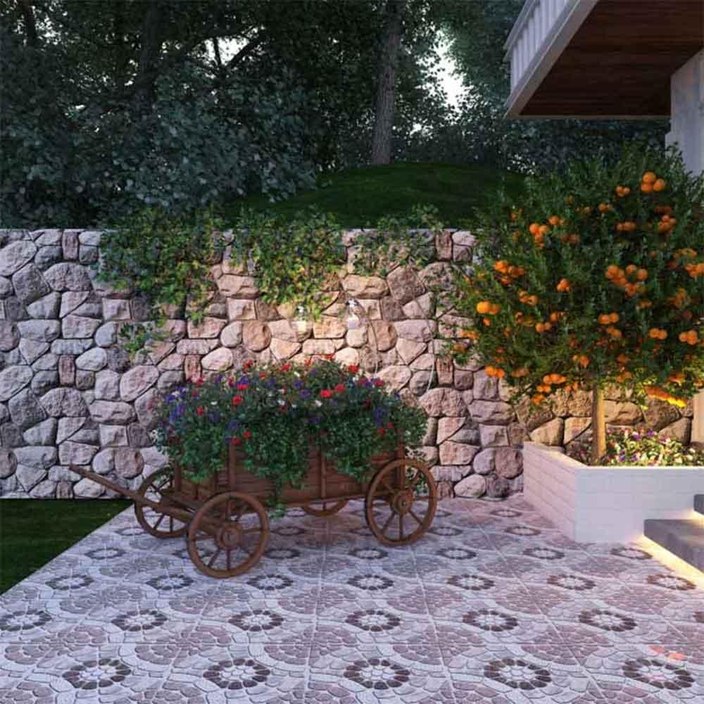 Gạch lát sân vườn cho không gian ngoại thất