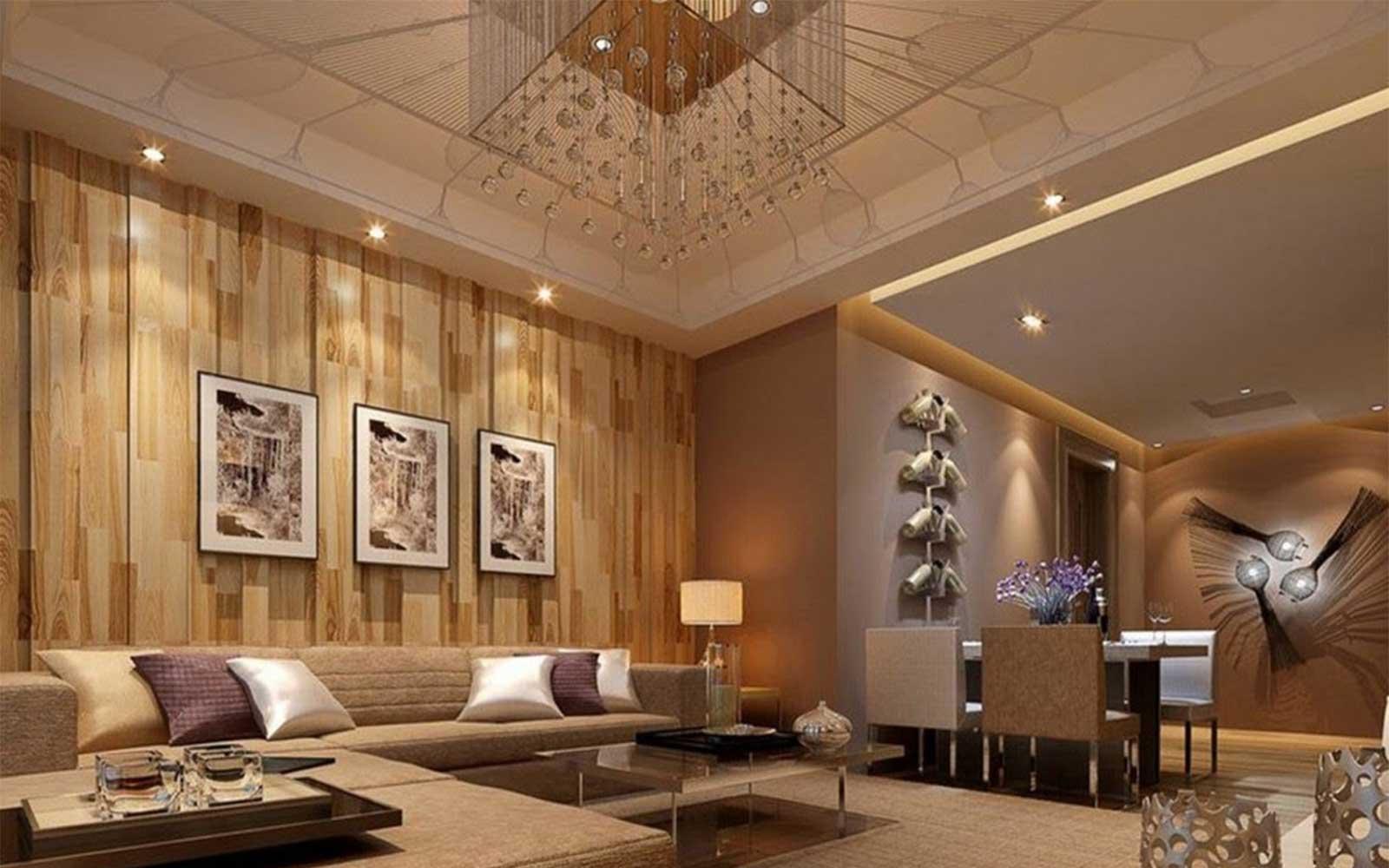 Gạch Royal 20x40 ứng dụng ốp tường phòng khách