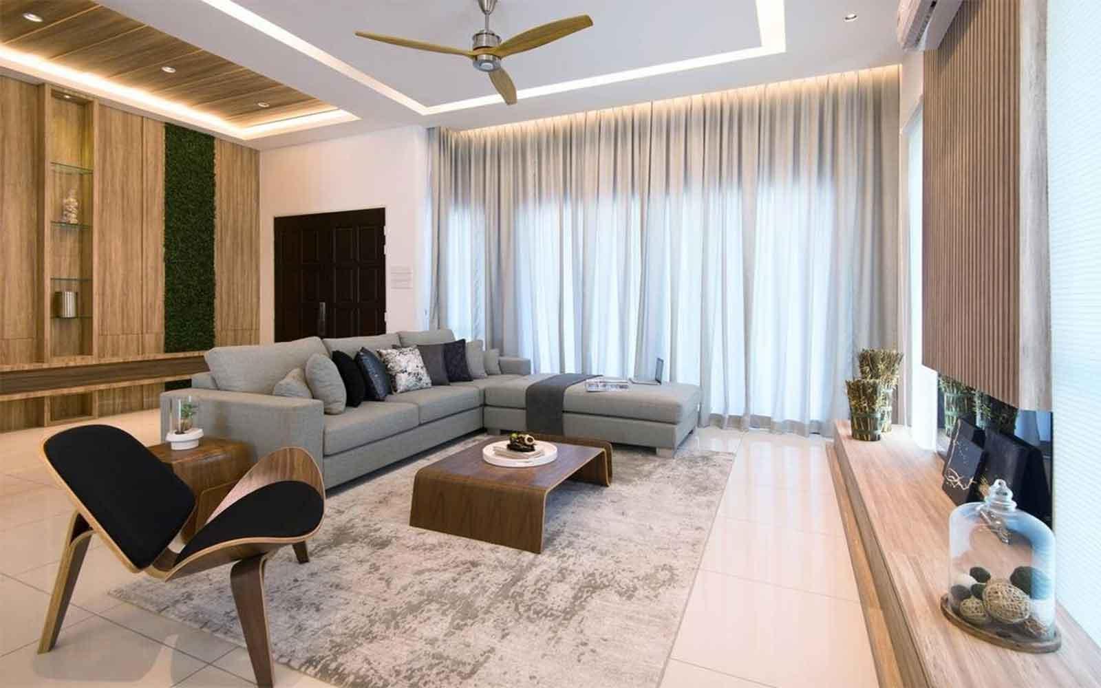 Kết hợp màu đồ nội thất và màu gạch ốp lát